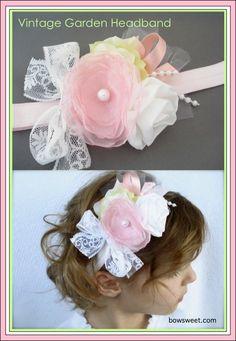 Vintage Garden Headband