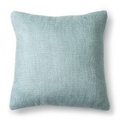 Threshold™ Pebble Decorative Pillow - Sea Mist (Square)
