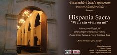 Concierto iglesia la Asuncion - Isla de Margarita / Hispania Sacra / Música renacentista española de Tomás Luis de Victoria / la Sarabanda