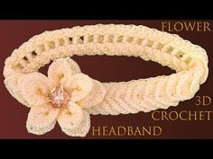 How To Make A Crochet Flower For Headband - Crochet Ideas Crochet Hair Accessories, Crochet Hair Styles, Crochet Art, Crochet Flowers, Crochet Ideas, Crochet Baby Shoes, Crochet Clothes, Costumes Faciles, Crochet Symbols