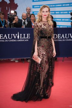 Diane Kruger in Elie Saab at the Deauville American Film Festival