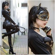 Steampunk Catwoman  Steampunk DIY Project Ideas Decor and Clothing MaritmeVintage.com      #Steampunk #Industrial