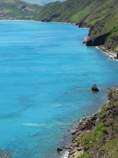 Beautiful Water!  I took this in St. Kitts 2010