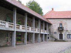 Ribnica castle courtyard #Ribnica #Dolenjska #RibnicaCastle #Slovenia #placestovisit #travel #thingstodo #MagicalPlace #castle