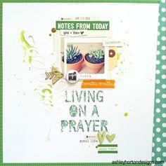 Living on a Prayer - Scrapbook.com