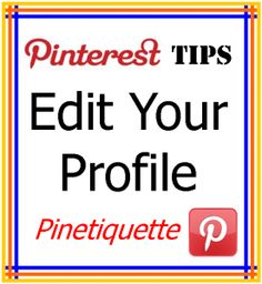 how to change pinterest email