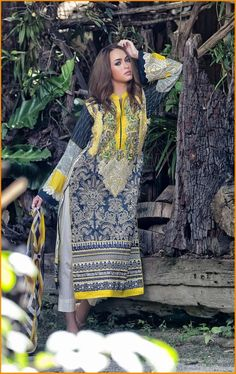 Latest Lala Summer Vintage Lawn Collection 2016 With Price  #Lala #VintageLawn #EmbroideredLawn #Dresses #LawnCollection #LalaTextiles #PakistaniLawn #PakistaniDresses