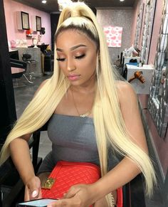 Shop 613 Blonde Bundles With Closure Brazilian Straight Hair Bundles With Closure Remy Human Hair Weave,Promotion factory cheap price,DHL worldwide shipping. Blonde Ponytail, Blonde Hair Girl, Blonde Wig, Cheap Human Hair, Human Hair Lace Wigs, Remy Human Hair, Weave Hairstyles, Straight Hairstyles, Woman Hairstyles