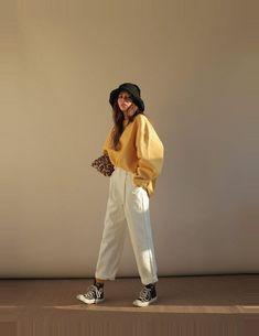Korean Fashion Trends, Korean Street Fashion, Korea Fashion, Asian Fashion, Look Fashion, 90s Fashion, Girl Fashion, Fashion Outfits, Fashion Guide