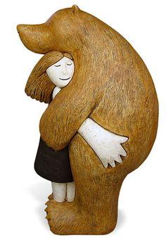 Bearhug - Paul Smith (studiopottery.co.uk)