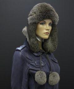 Kožešinová čepice z králíka = ušanka = laponka Winter Hats, Fashion, Moda, Fashion Styles, Fashion Illustrations
