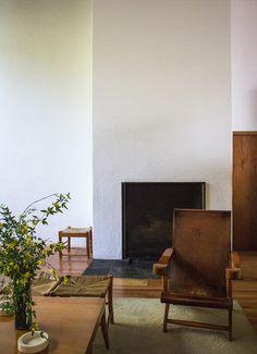 Home Interior Design, Interior Architecture, Interior And Exterior, Interior Decorating, Architecture Diagrams, Architecture Portfolio, White Wash Walls, Wall Bookshelves, Living Spaces