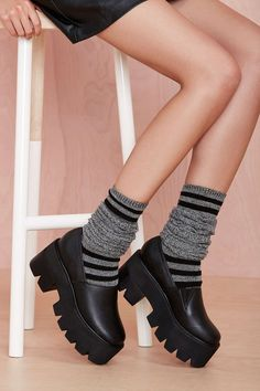 Toe the Line Socks | Shop What's New at Nasty Gal