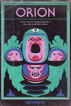 Sci-Fi-Fi: Orion by Changethethought, via Flickr Book Cover Art, Book Cover Design, Book Design, Coraline Jones, Science Fiction Kunst, Sci Fi Kunst, Classic Sci Fi Books, 70s Sci Fi Art, 80s Sci Fi