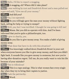 An interesting analogy that shows how women are treated in law.