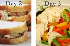 One Roasted Chicken = One week of lunches