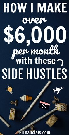 How I Make A Full-Time Income With These Side Hustles #makingmoney #workfromhome #makemoney