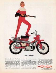 HONDA Motorcycles Ad