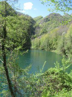 Isola Santa uno scorcio del lago
