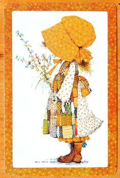 CHILDREN- HOLLY HOBBIE - BROWN BORDER - SINGLE SWAP PLAYING CARD | eBay