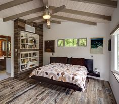 Design and style Tip – Hide An Air Conditioning Unit With Custom Shelving Air Conditioner Cover Indoor, Dream Home Design, House Design, Custom Shelving, Always Kiss Me Goodnight, Hotel Room Design, Headboards For Beds, Decoration, Houses