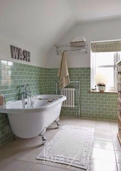 black white and green bathroom black white bathroom tile green tile bathroom dec. - black white and green bathroom black white bathroom tile green tile bathroom decorating - Smart Tiles, Bad Inspiration, Bathroom Inspiration, Bathroom Ideas, Bathroom Designs, Bathroom Renovations, Bathroom Pictures, Shower Ideas, Bath Pictures