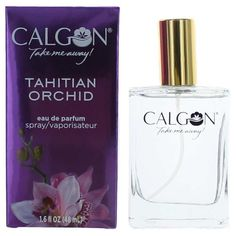 Calgon Tahitian Orchid Perfume by Calgon 1.5 oz Intense EDP Spray NEW IN BOX #Calgon