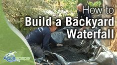 """<h3>How To Build a Backyard Pond</h3><div class=""""video-description"""">See how easy it is to transform your outdoor living space with the Aquascape DIY Backyard Pond Kit!  Your pond maintenance is greatly reduced when you use an ecosystem approach to create your garden water feature using an easy-to-install kit.  www.aquascapeinc.com</div><div class=""""video-length"""">Length: 11:57</div><div class=""""video-views"""">Viewed 4,595 times</div>"""