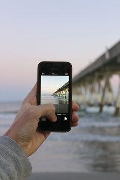 packlight-travelfar: iPhone 5 Wilmington NC By me! (John...