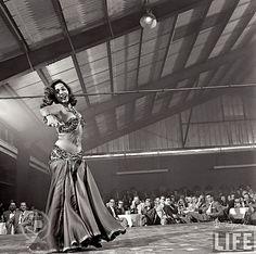 Samia Gamal In Dallas - October 27, 1952 (A) by Tulipe Noire, via Flickr