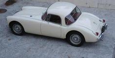 1960 MGA Twin cam coupe