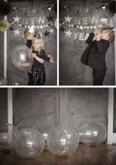 Kids New Years Eve Party Decorations via Honesttonod.com