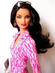 Diane von Furstenberg 2006 by shadow-doll, via Flickr