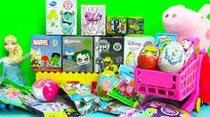 21+ MEGA SURPRISE Unboxing MLP Shopkins BFFs Minecraft Frozen