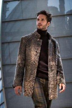 Пальто каракуль мужское | Paolo Moretti шубы Италия