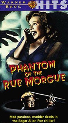 Phantom of the Rue Morgue [VHS]