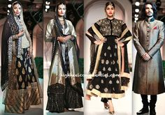 "Meera & Muzaffar Ali's collection ""Pearl of Orient"" for India Bridal Fashion Week 2013"