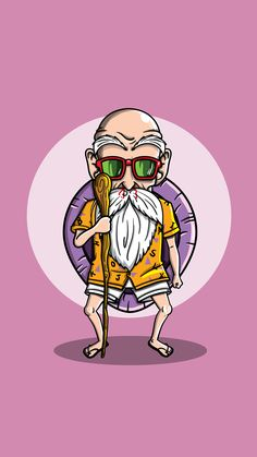 General 1080x1920 Dragon Ball Z Dragon Ball anime ( Roshi = Zen Master, so his name translates to Master Zen Master)