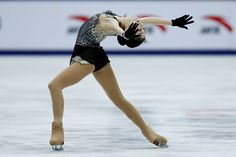 Zijun Li of China competes in the Ladies Short Program on day two of Audi Cup of China ISU Grand Prix of Figure Skating 2015 at Beijing Capital...