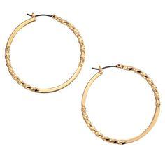 Image result for avon twisted hoop earrings