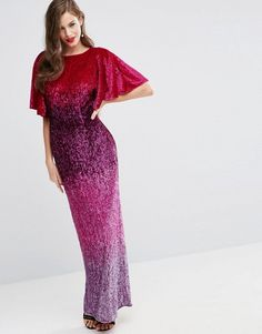 Browse online for the newest ASOS RED CARPET Ombre Embellished Caftan Maxi Dress styles. Shop easier with ASOS' multiple payments and return options (Ts&Cs apply). Asos Sequin Dress, Embellished Dress, Pret A Porter Feminin, Short Sleeve Dresses, Maxi Dresses, Fashion Online, Party Dress, Style Caftan, Red Carpet