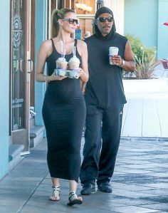Eddie Murphy & Paige Butcher: Baby Bump Watch - http://site.celebritybabyscoop.com/cbs/2016/03/01/eddie-murphy-butcher-watch #Babybump, #Coffee, #EddieMurphy, #Expecting, #Maternity, #MaternityFashion, #MaternityStyle, #Maxi, #Maxidress, #PaigeButcher