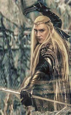 #LeePace as #Thranduil in The Hobbit: The Battle of the Five Armies.  Fan edit.