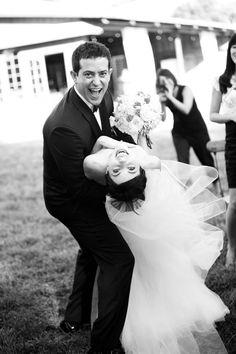 One of the best wedding shots I've seen.