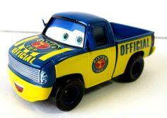 Disney Pixar Cars Piston Cup Official Pick Up Truck 1/55 Blue Die Cast Toy #Disney