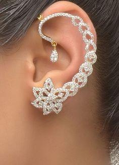in, Diy Abschnitt, Ear Jewelry, Cute Jewelry, Body Jewelry, Silver Jewelry, Jewelry Accessories, Jewelry Necklaces, Jewelry Design, Jewellery, Stylish Jewelry
