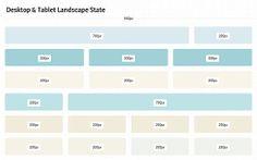 940px Widescreen Desktop & Tablet Landscape Grid Porportion Patterns