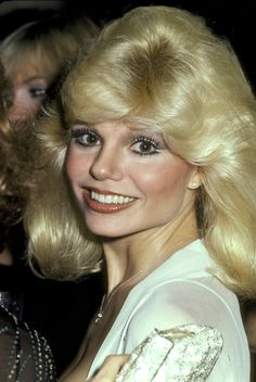 BLONDE AT 1980 Loni Anderson consumate blonde of the 1980'-s.