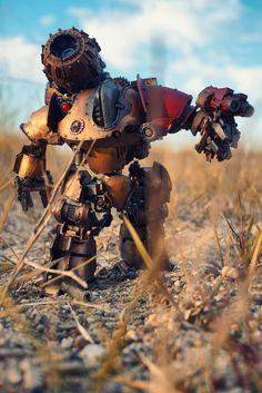 Adeptus Mechanicus, Forge World, Horus Heresy, Robot, Thanatar