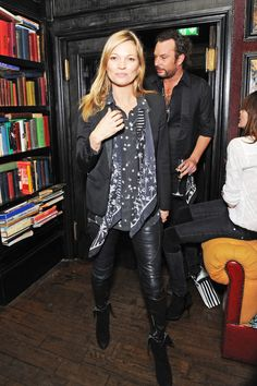 Layer Up With Leather Leggings - Black leather pantsare a wardrobe staple that can be dressed up with a tuxedo jacket and frilly blouse or dressed down with aT-shirt and flats. Yes, they're expensive, but worth the splurge.